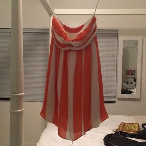 Alice and Olivia strapless dress worn once!